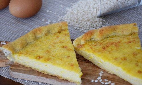 Torta di riso genovese – torta salata di riso