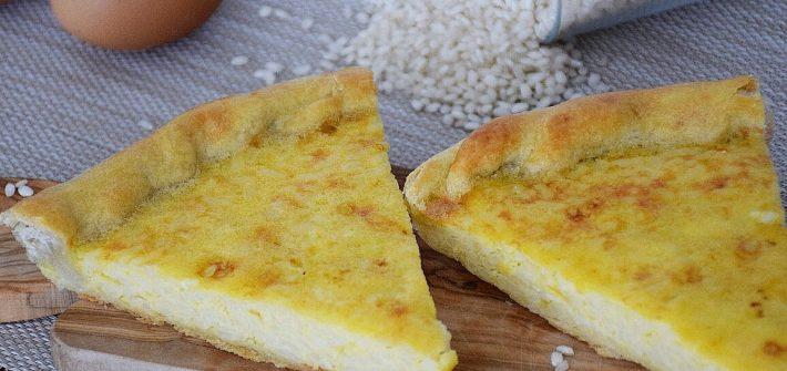 Torta di riso genovese - torta salata di riso