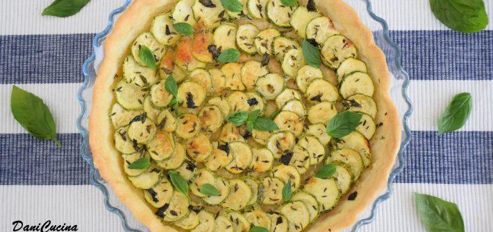 Crostata salata di zucchine