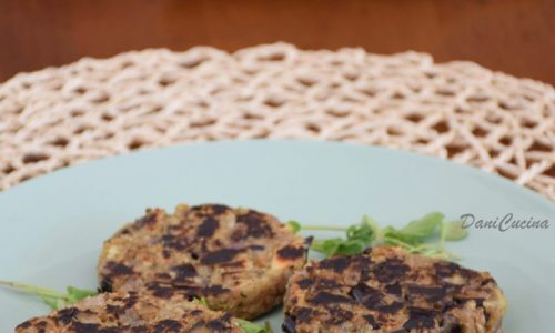 Burger di Melanzane (vegan)