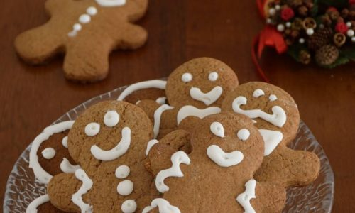 Omini di pan di zenzero (gingerbread)