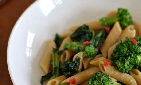 Pasta e broccoli alla calabrese – variante integrale e più leggera