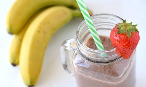 Milkshake vegano al cioccolato