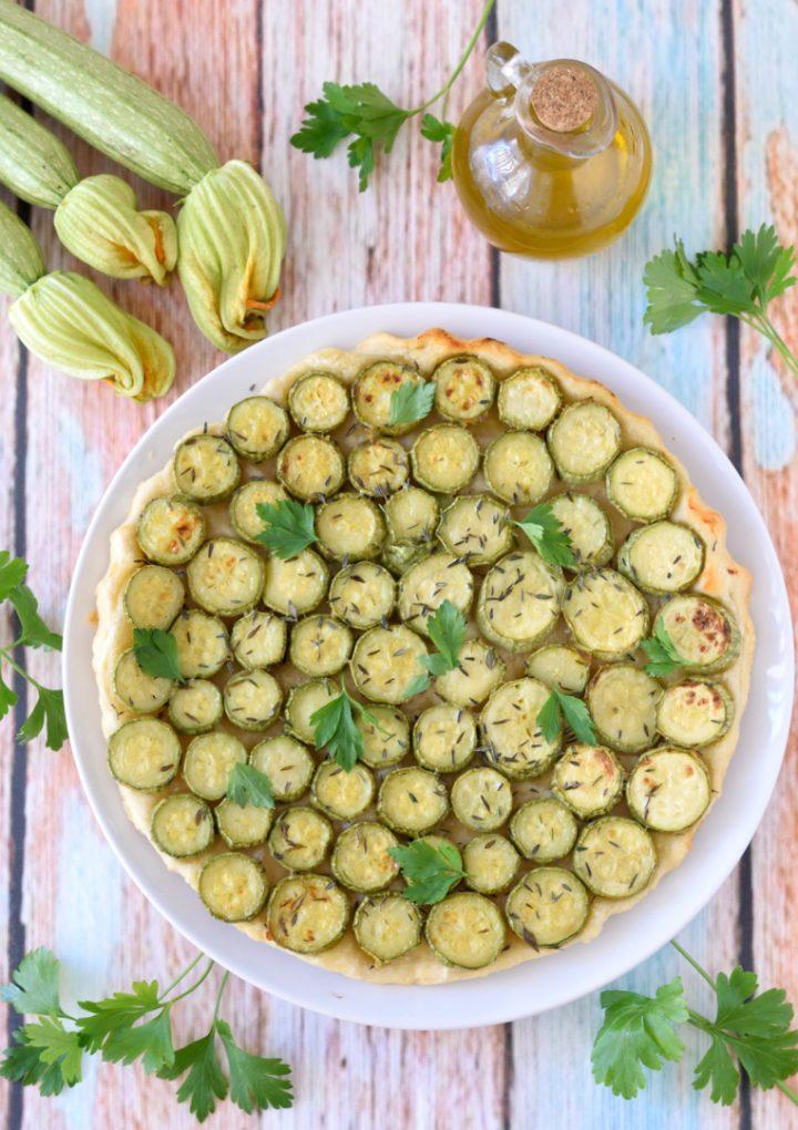 Tarte Tatin Salata di Zucchine