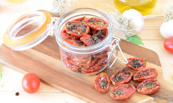 Come fare i pomodorini confit