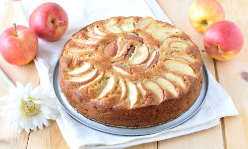 Torta di mele e grano saraceno
