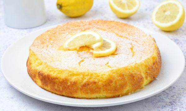 Torta di ricotta e limone senza farina