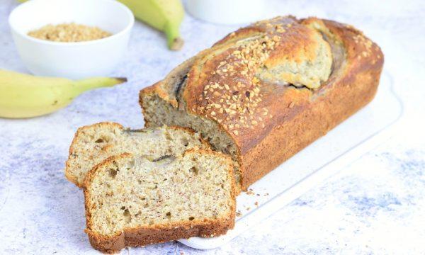 Banana bread con nocciole