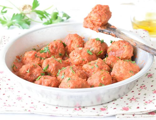 Polpette di Carne al Sugo morbide e non fritte