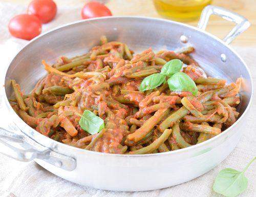 Fagiolini al Pomodoro – ricetta contorno