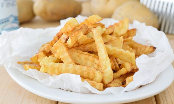 Patatine Fritte a Zig-Zag fatte in casa