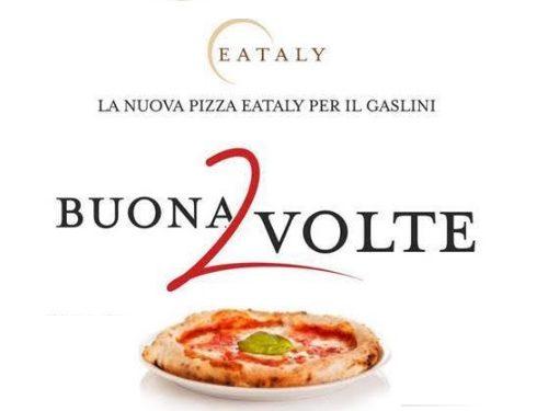 A Genova la pizza Eataly per Gaslini è buona 2 volte!
