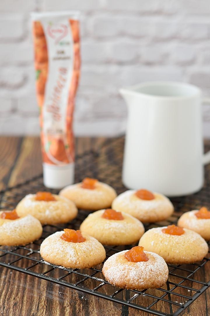 Biscottini al Burro con Confettura