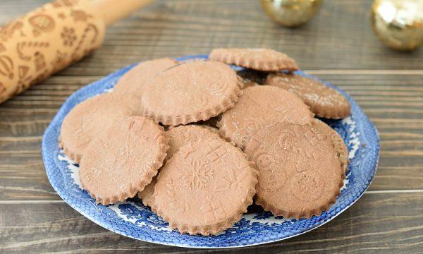 Biscotti Natalizi con Mattarello Decorativo
