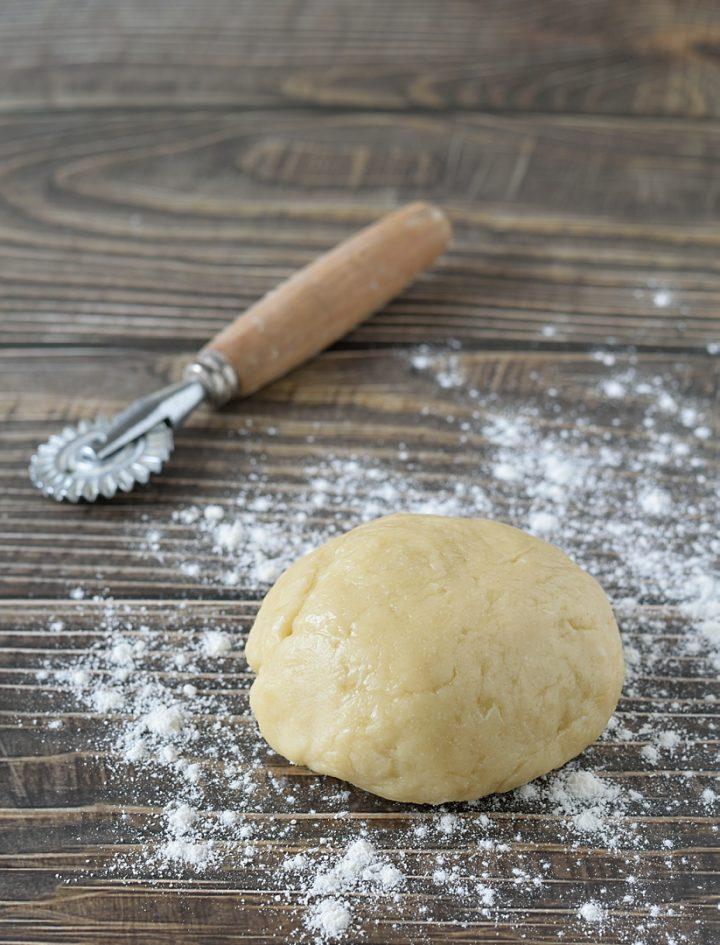 Pasta brisée all'olio