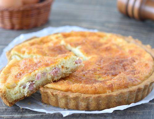 Quiche Lorraine (torta salata francese)