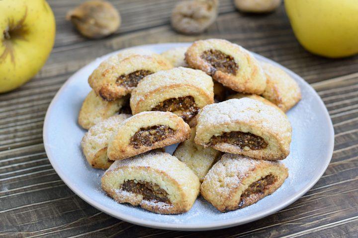 Biscotti ripieni di Fichi e Mele