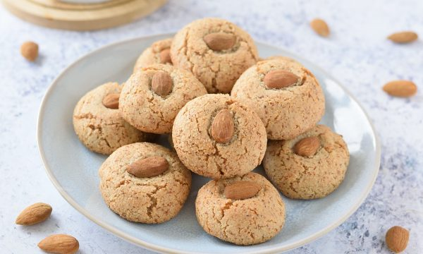 Biscotti alle Mandorle non Pelate