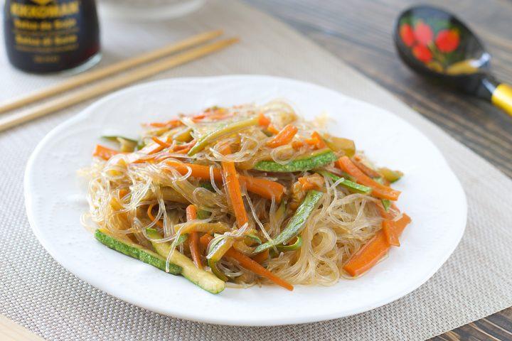 Ricetta Noodles Di Soia.Spaghetti Di Soia Con Verdure Danicucina