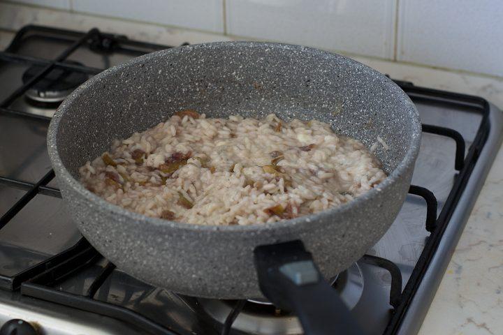 Risotto al Gorgonzola e Fichi Caramellati