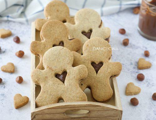 Biscotti Omini alle Nocciole