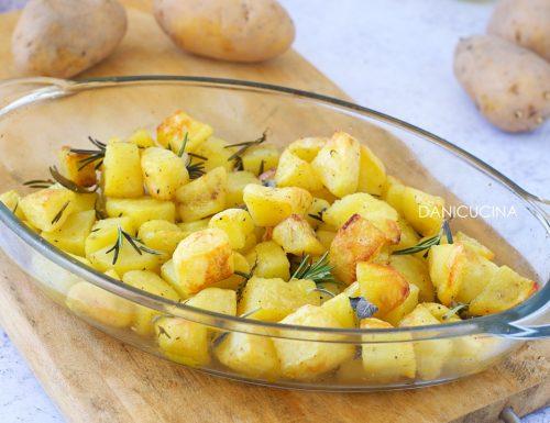 Patate al Forno Perfette (croccanti fuori e morbide dentro)