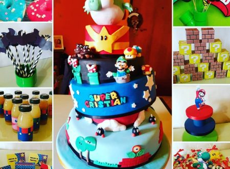 Festa di compleanno a tema Super Mario