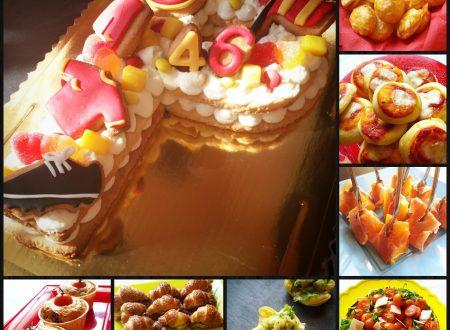Sfizioso buffet di compleanno