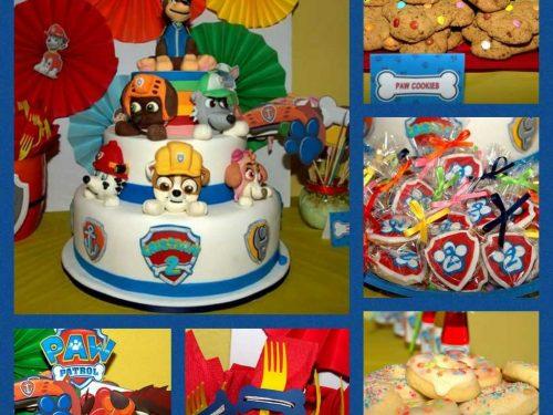 Paw Patrol party: un compleanno perfetto