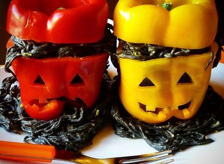 Spaghettini stregati di Halloween per un primo da paura