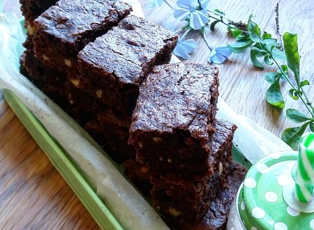 Brownies al cioccolato al latte e nocciole