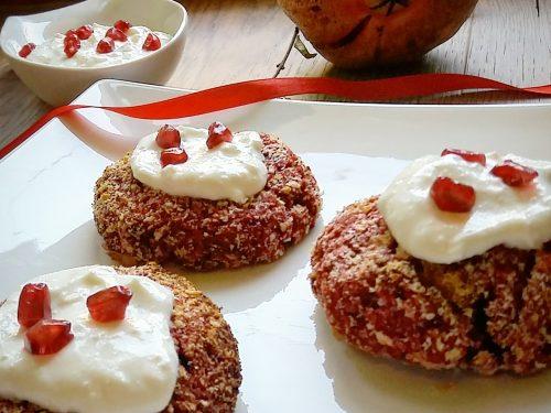 Hamburger vegetariani di barbabietole