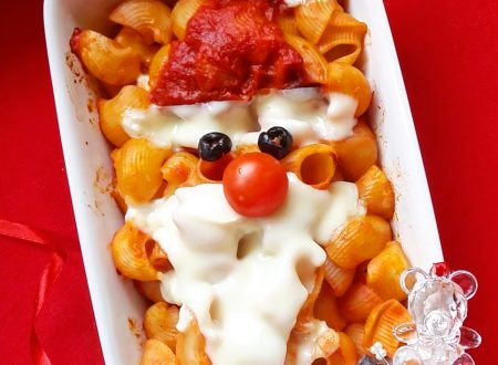 La pasta al forno di Babbo Natale