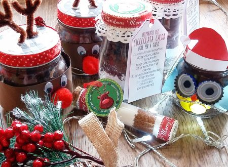 Simpatici cestini natalizi home made