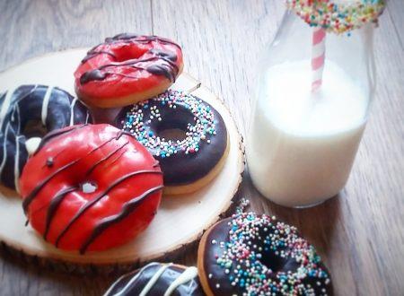 Donuts al forno, le dolci ciambelle americane
