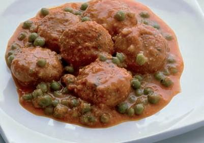 Polpettine di pesce in salsa
