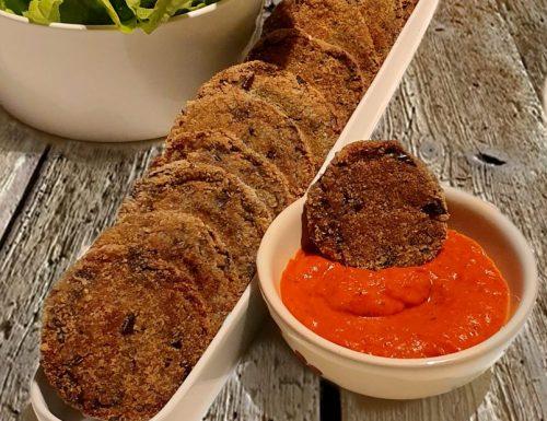 Crocchette di melanzane con salsa agrodolce