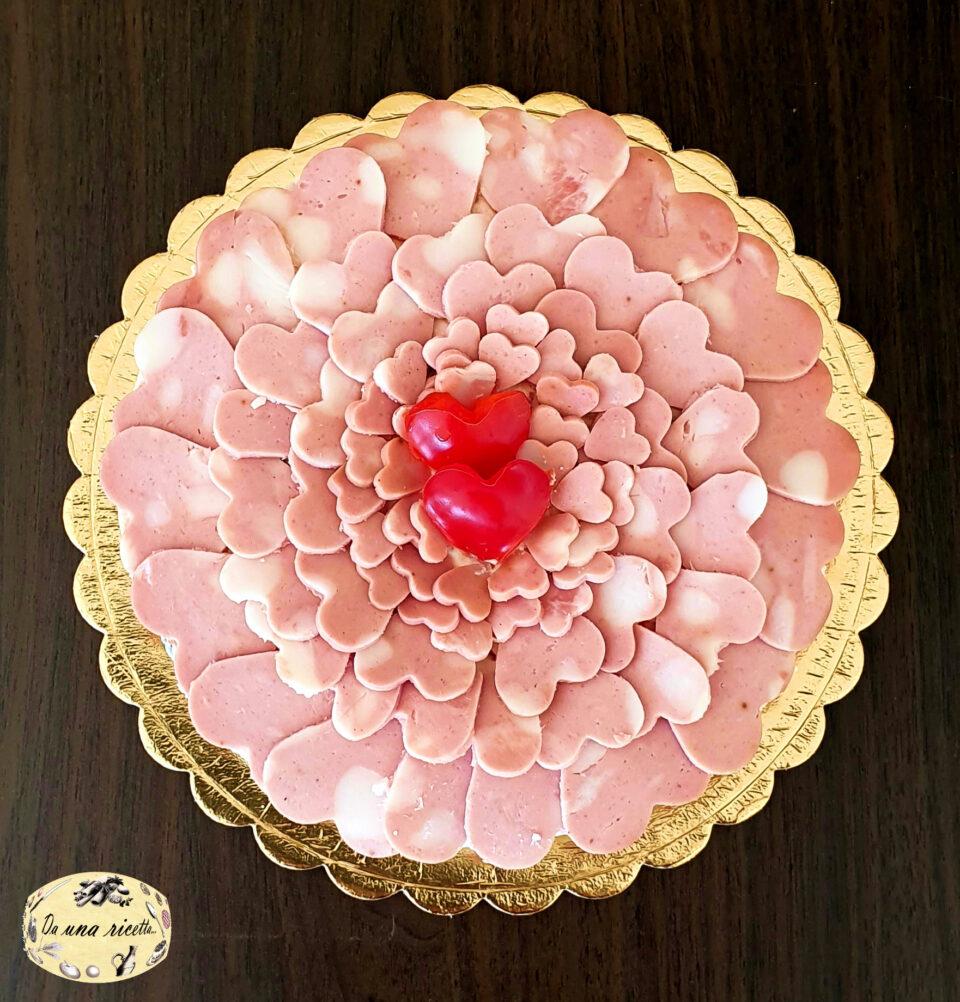 cheesecake Salata di San Valentino