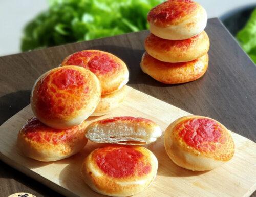 Le mie pizzette rosse semi-sfogliate