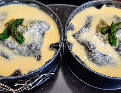 Lasagne ai 3 colori