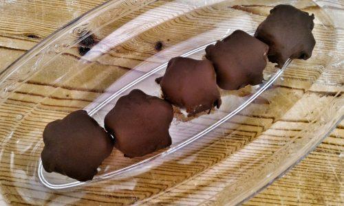 Stelle senza cottura al cioccolato