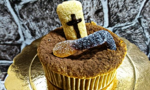 Muffin lapide, buon Halloween!