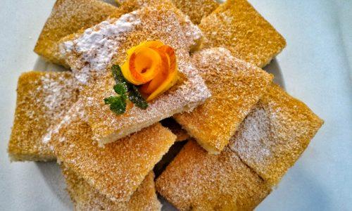 Torta all'arancia con limoncello