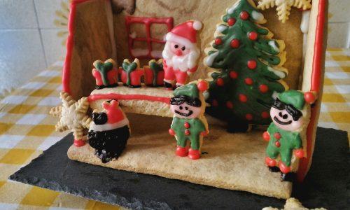 Laboratorio di Babbo Natale in frolla senza uova
