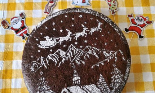Last minute cake arancia e cioccolato