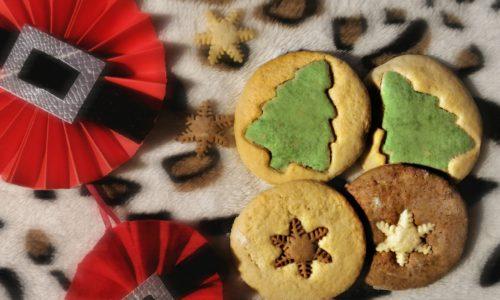 Cocco in frolla per biscottini bicolor