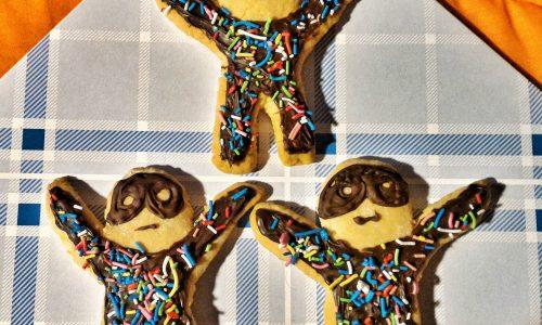 Biscotti arlecchino alla cannella