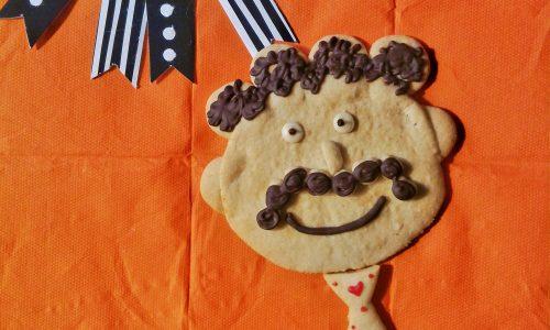 Papà biscotto stilizzato
