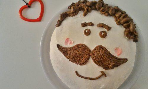 Papà ti trasformo in una torta al caffè