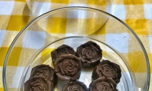 Cioccolatini per la mamma senza temperaggio